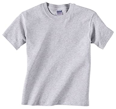 Amazon.com: Gildan boys Heavy Cotton T-Shirt(G500B): Clothing