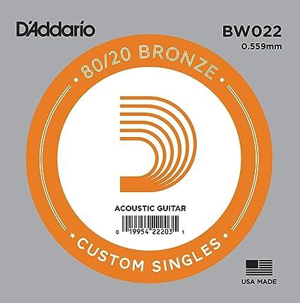 DAddario BW022, cuerda individual para guitarra acústica ...