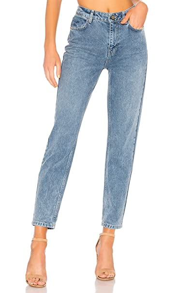 df43c11771ebb H HIAMIGOS Mujer Vaqueros Básicos Jeans Mom Fit Tiro Alto Pantalón Vaquero  para Mujer  Amazon.es  Ropa y accesorios