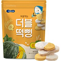 BeBecook My First Duo-Flavour Rice Rusk ,Pumpkin ,30 g