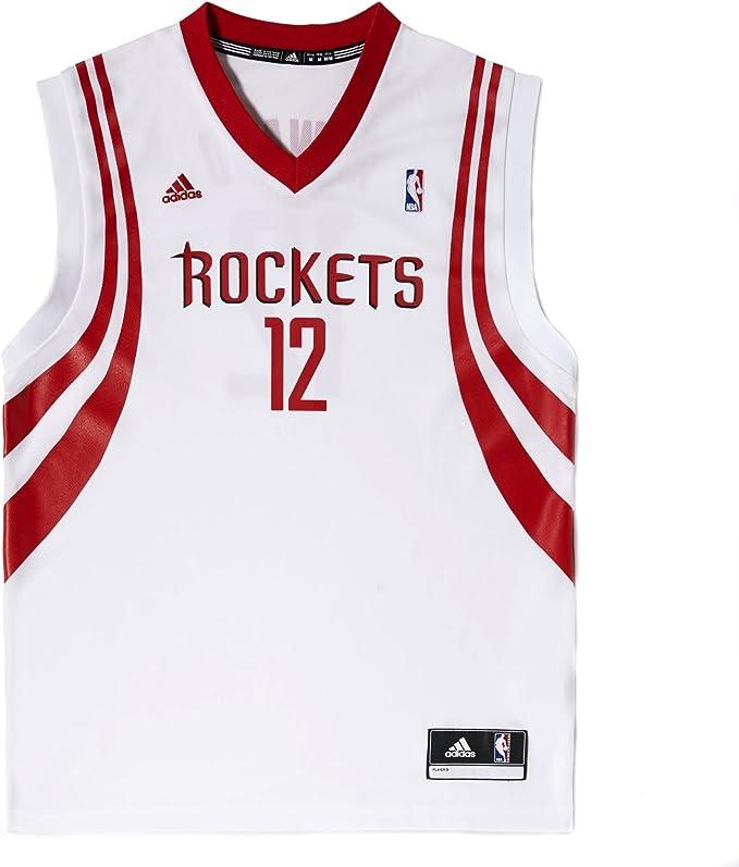 adidas Camiseta de Pelota de Baloncesto Houston Diseño de Cohetes ...