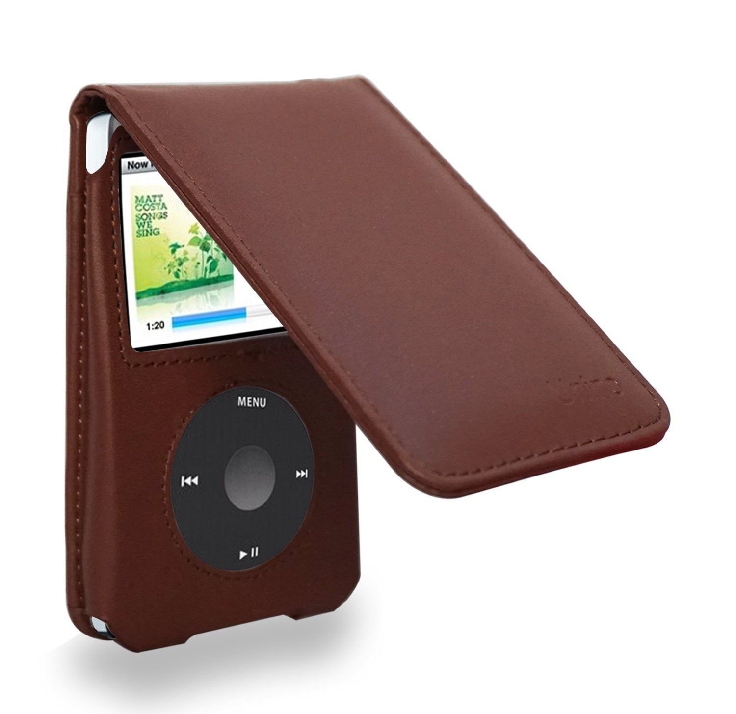iPod Classic 6//7th 80//120//160GB Video 5th 30GB Pink PU Leather Case Cover Pouch