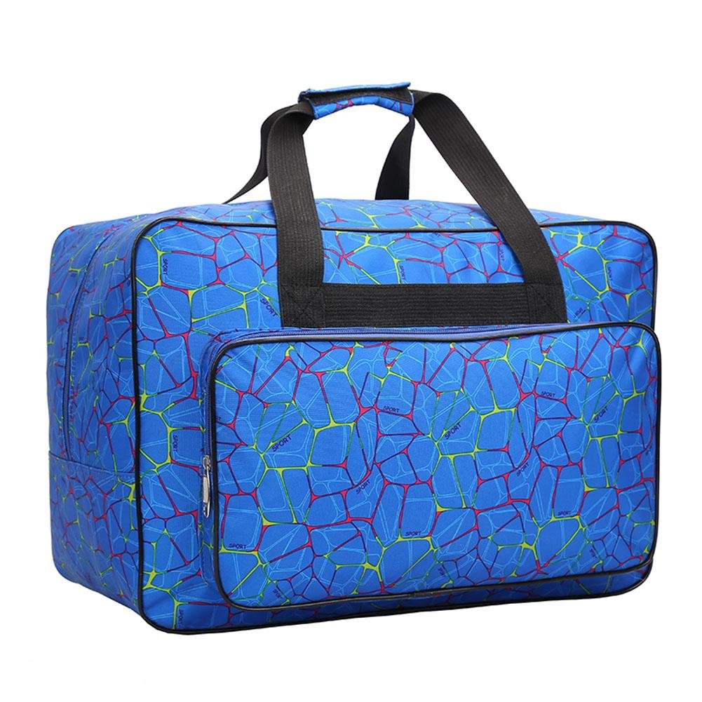 Bolsa para máquina de coser, bolsa de transporte universal de nailon, funda de almacenamiento acolchada universal con bolsillos y asas 18.1x12.2x9.4in ...