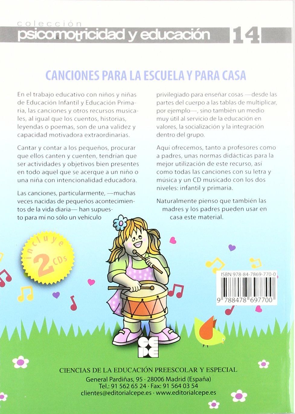 Amazon.com: Canciones para la escuela y para casa ...