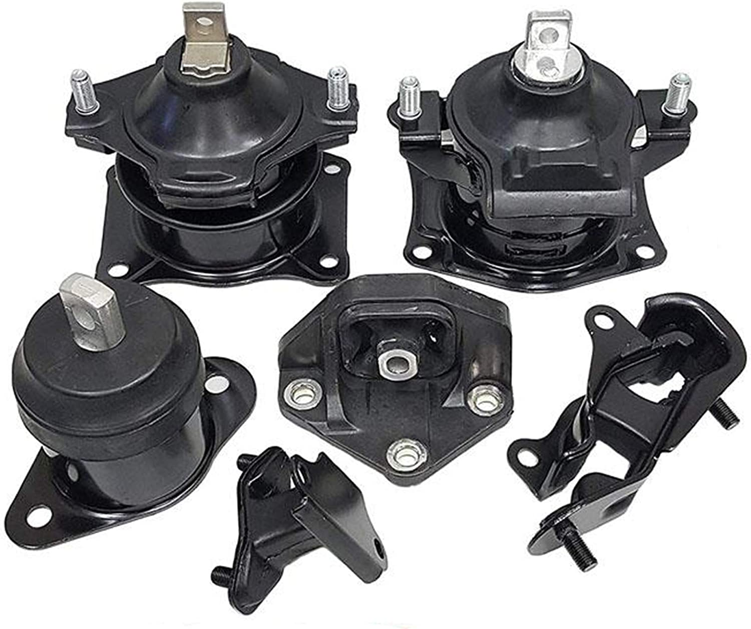 ECCPP Engine Motor and Trans Mounts A4526 A4517 A4527 A4544 A4524 Set of 5 Fit For Acura TL 2004 2005 2006 3.2L
