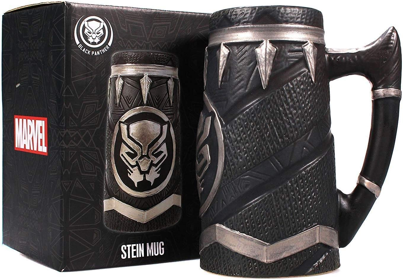 Capatin America Officially Licensed Black Panther Civil War Captain America Stein Mug