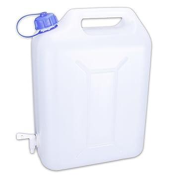 Bidón de agua Bidón agua potable, camping con grifo para viaje 10 L)