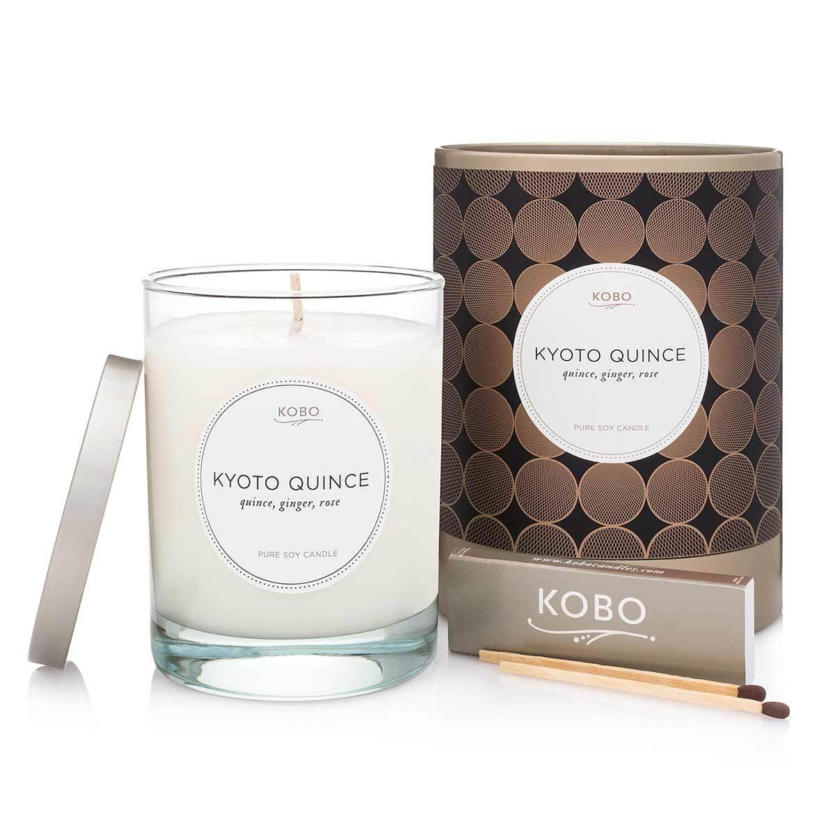 KOBO Filament Candle Kyoto Quince