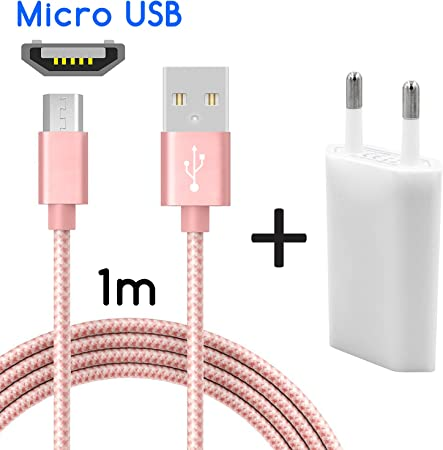 Coverlounge Ladegerät Mit Micro Usb Kabel 1m Elektronik