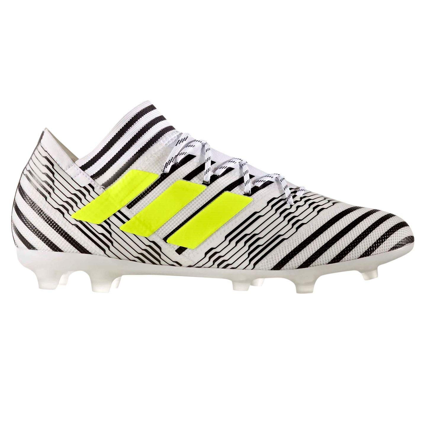 Adida Nemeziz 17.2 FG Fußballschuhe für Herren, Weiß Gelb