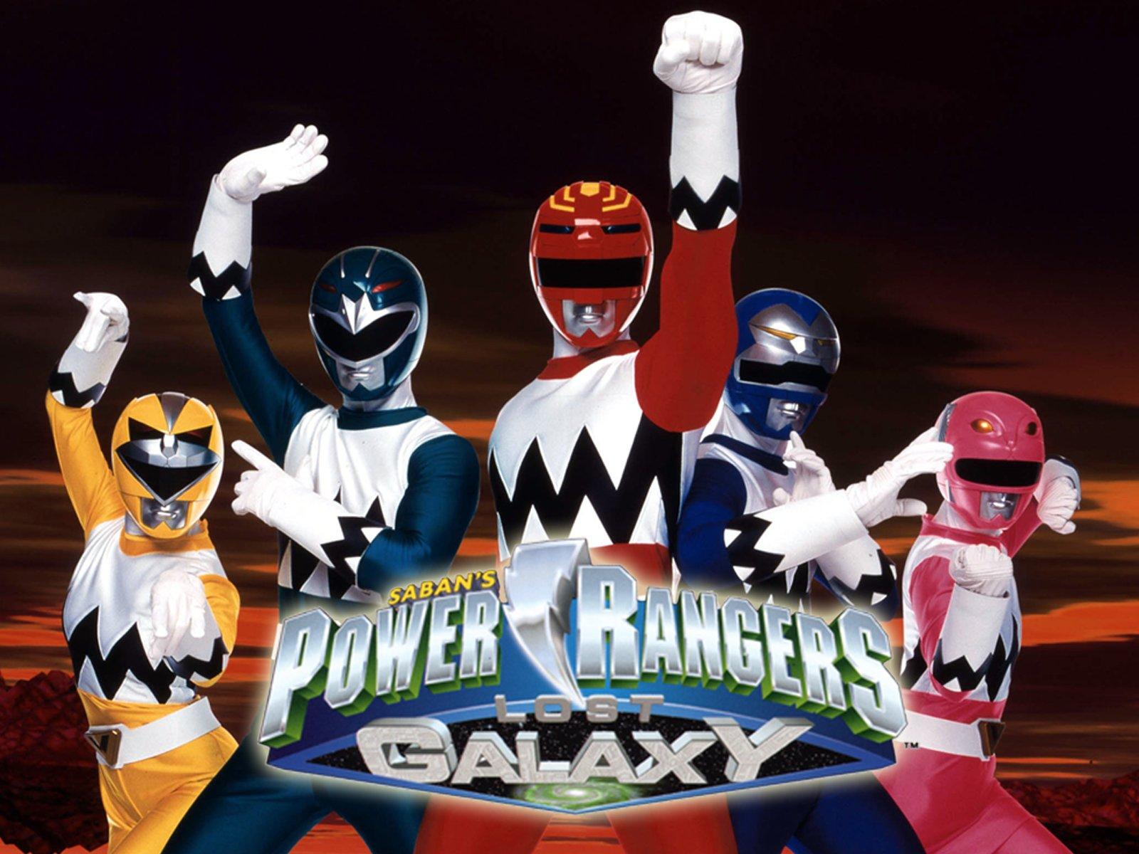 Amazon.com: Power Rangers Lost Galaxy Season 1: Jason David Frank ...