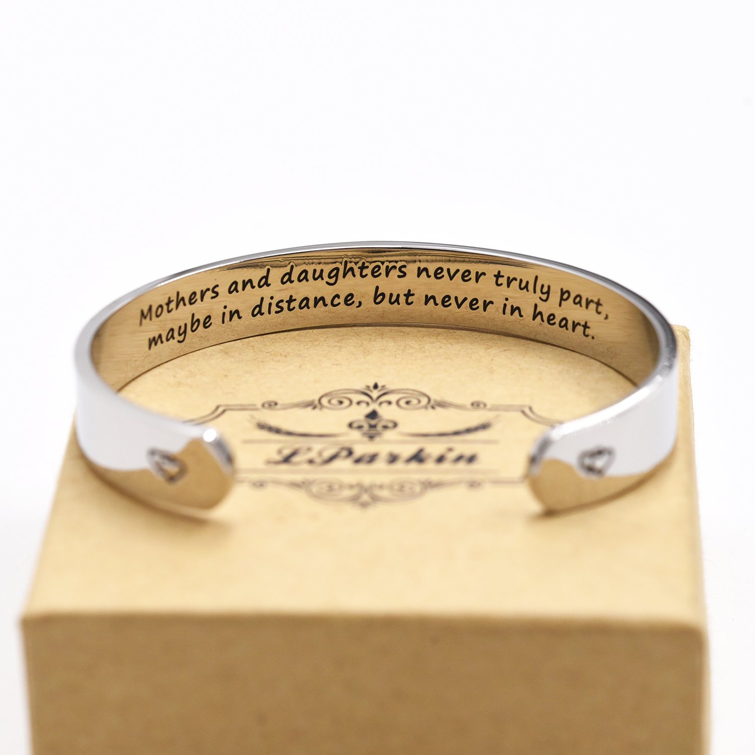Mothers and Daughters Maybe In Distance But Never Truly Part But Never In Heart Bracelet by LParkin (Image #4)