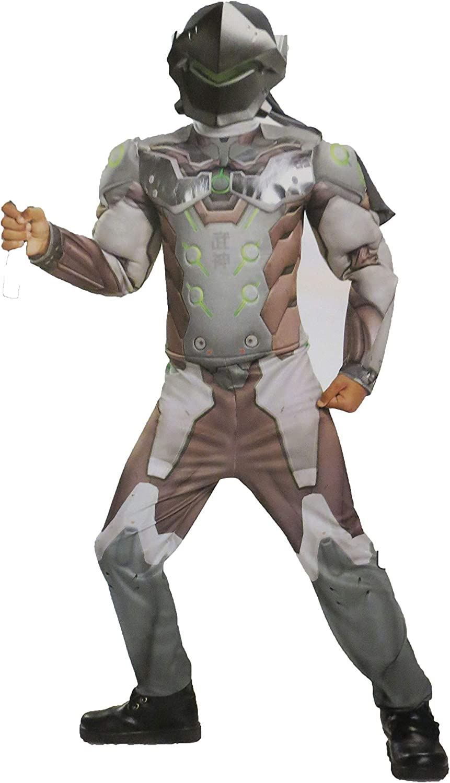 Amazon.com: HalloCostume Boys Genji Muscle Costume ...