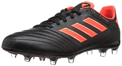 caa03bc2cd07 adidas Men's Copa 17.2 FG Soccer Shoe, Black Solar RED, 6.5 Medium US
