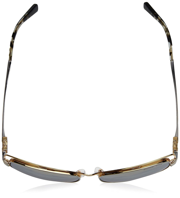 6f1388c6cc706 Michael Kors AUDRINA I MK1013 Sunglasses 11196V-58 - Gold Silver at Amazon  Women s Clothing store