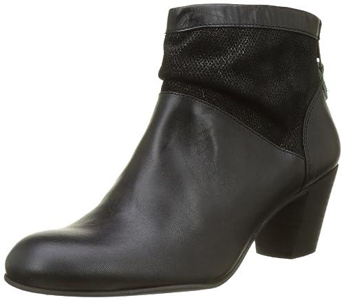 Kickers seety - Botines clásicos para Mujer, Negro (Noir (Noir)), 41 EU: Amazon.es: Zapatos y complementos