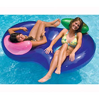 Swimline 90412SL Side by Side Double Ring Lounger