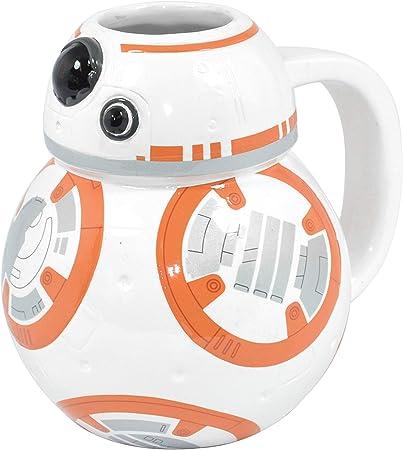 Star Wars Droid Tazón de Cerámica Desayuno BB 8
