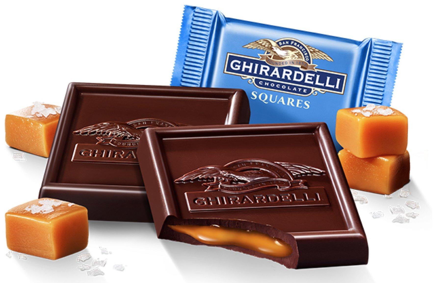 Ghirardelli Bulk Dark Chocolate Sea Salt Caramel (5 pound) by West End Foods