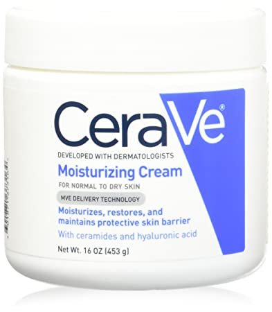 4 Pack - CeraVe Moisturizing Cream - 16 Oz Each luminescetm youth restoring cleanser