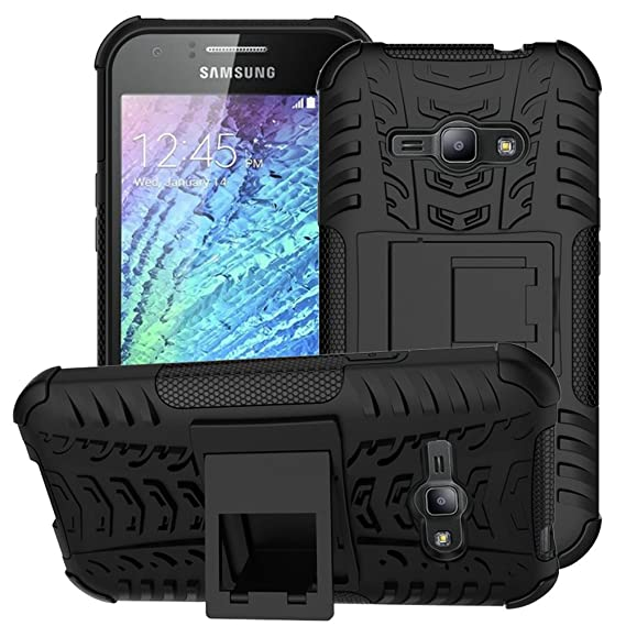 size 40 83ca1 4172f Galaxy J1 Ace Case,Samsung Galaxy J1 Ace Case,EMAXELER Creative Hybrid Case  for Samsung Galaxy J1 Ace,Heavy Duty Rugged Dual Layer Case with kickstand  ...