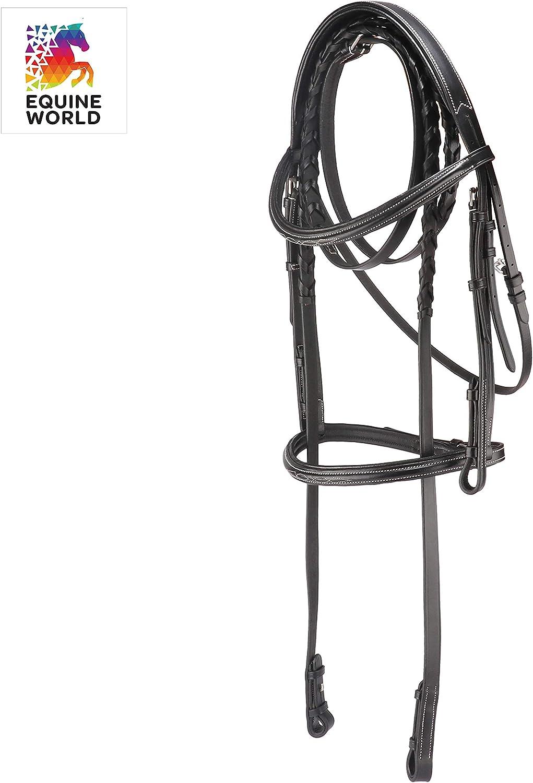 103-CSP COB, BLACK EW Bridle Set Handcrafted Premium Leather