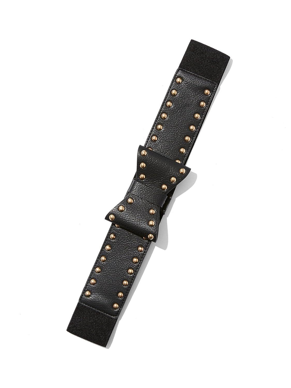 New York & Co. Women's Studded Bow Belt