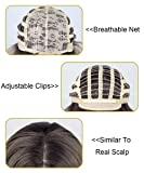 Stylish Ombre Blonde Short Wavy Bob Wigs For