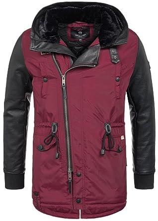 7d1dccb60306 Navahoo warme Designer Herren Winter Jacke leichte Winterjacke Parka Mantel  B622  B622-Shinook-
