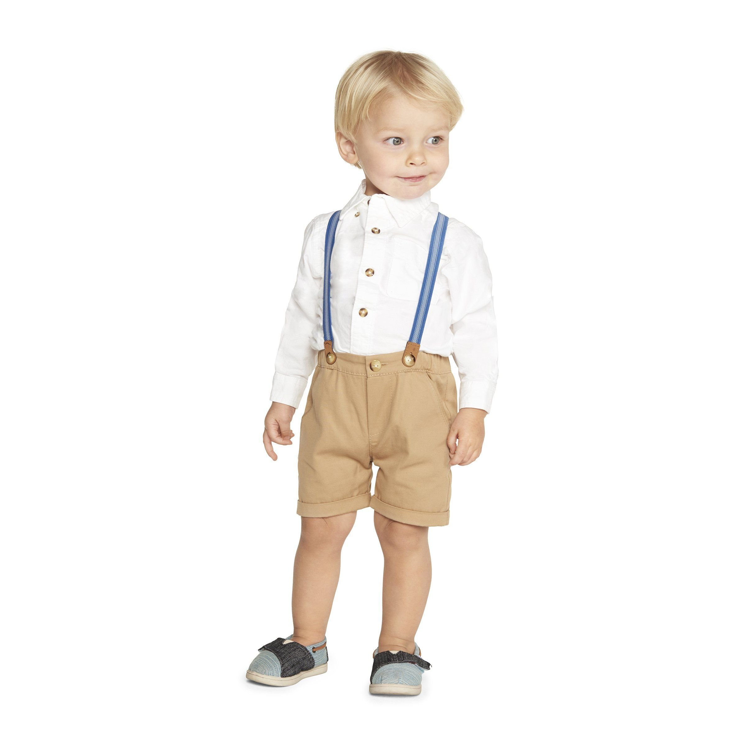 Little Brother Samuel Suspenders Set by PIPPA & JULIE (Image #4)