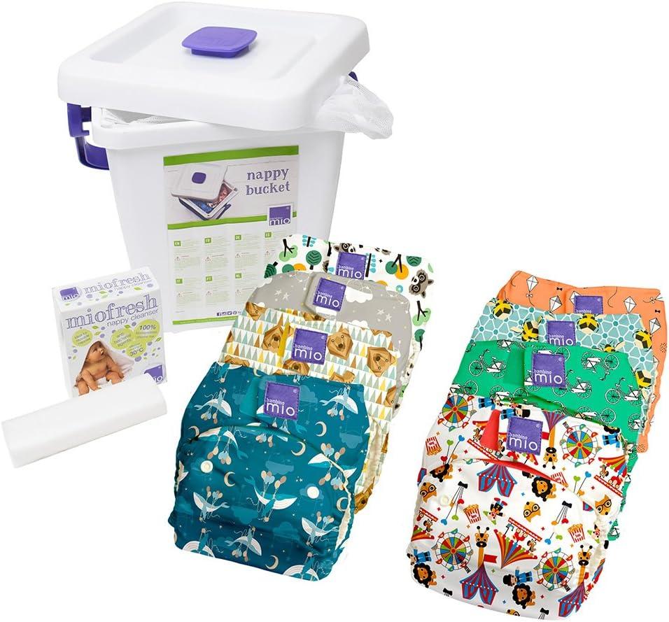 Bambino Mio Miosolo kit de pañales lavables, mezcla (puede variar)