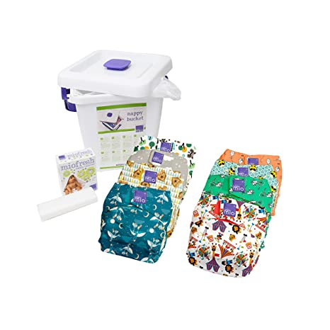 Bambino Mio, miosolo pack de pañales reutilizables, mix