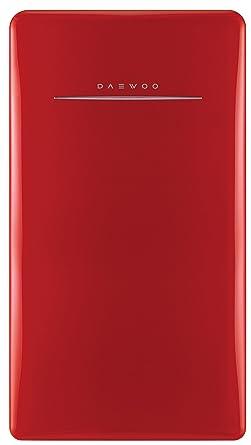 Daewoo FR-044RCNR Retro Compact Refrigerator 4 4 Cu  Ft  | Pure Red