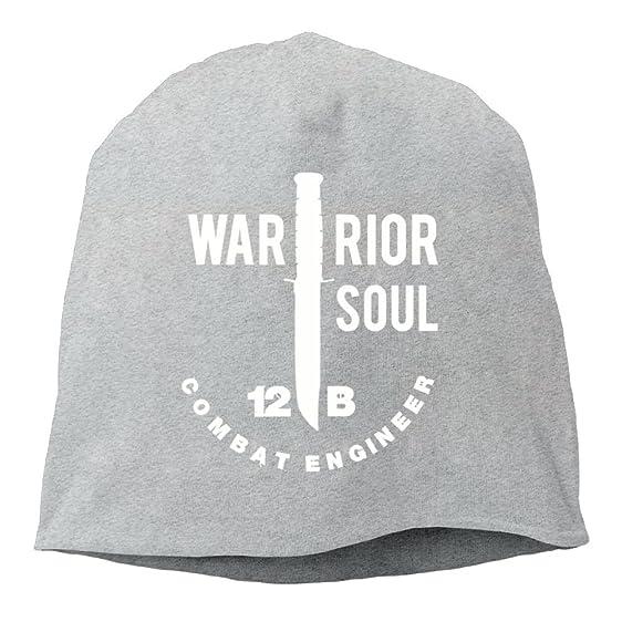 ... 85c8a 04392 12B Combat Engineer US Army Men Women Knit Hat Acrylic  Watch Cap For Autumn ... 3e0032f5d