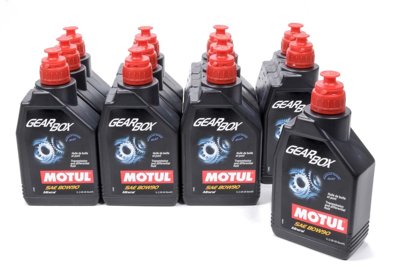 Motul 105787 80W90 Gearbox Oil, 12 l, 1 Pack by Motul