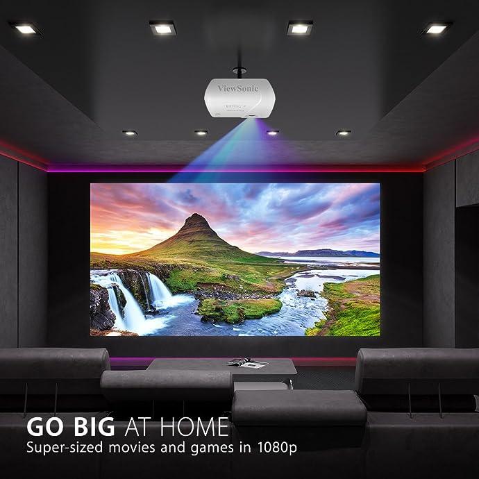 金盒特价 ViewSonic 优派 PJD7828HDL 1080p全高清投影仪 投影机 4.5折$449.99 海淘转运到手约¥3352