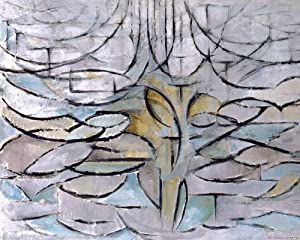 1art1 Piet Mondrian Poster Art Print - The Flowering Apple Tree, 1912 (20 x 16 inches)