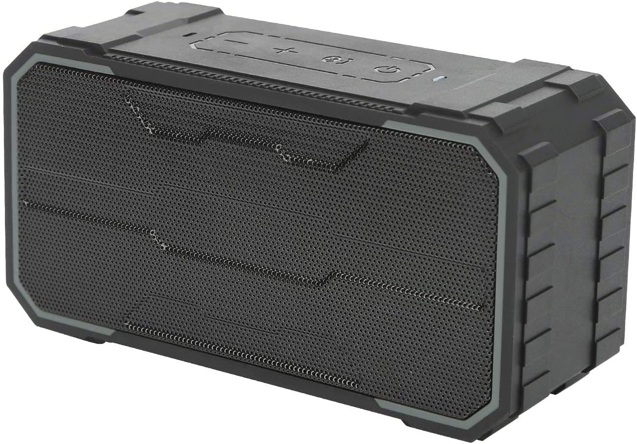 BestOnly Bluetooth Speakers IPX7 Waterproof Portable Wireless Outdoor Speaker, 33-Foot Bluetooth Range & Built-in Mic,24 Hour Playtime, Hands-Free Speaker Phone and TF Card Slot (Black) …
