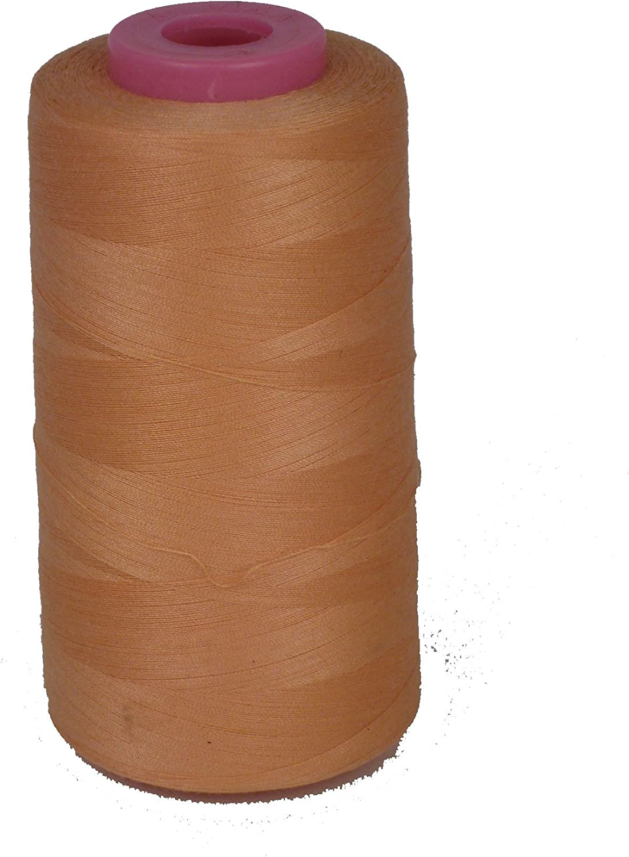 Black LA Linen 100/% Polyester Cone Serger Thread