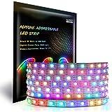 ALITOVE 5m WS2812B Individually Addressable LED Strip Light 16.4ft 300 SMD 5050 RGB Dream Color LED Pixel String Light…
