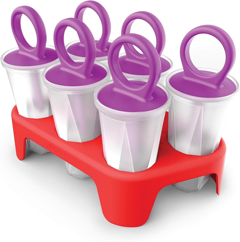 KOJI Ring Pops 8 Silicone Molds Zoku Ice Pops Lollipops Chocolates BPA  Free NEW