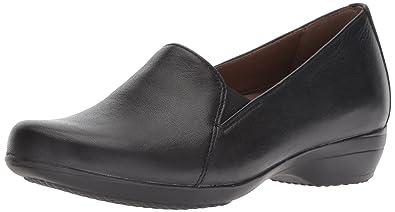 e382c7a9004 Dansko Women s Farah Loafer Flat Black Milled Nappa 35 M EU (4.5-5 US
