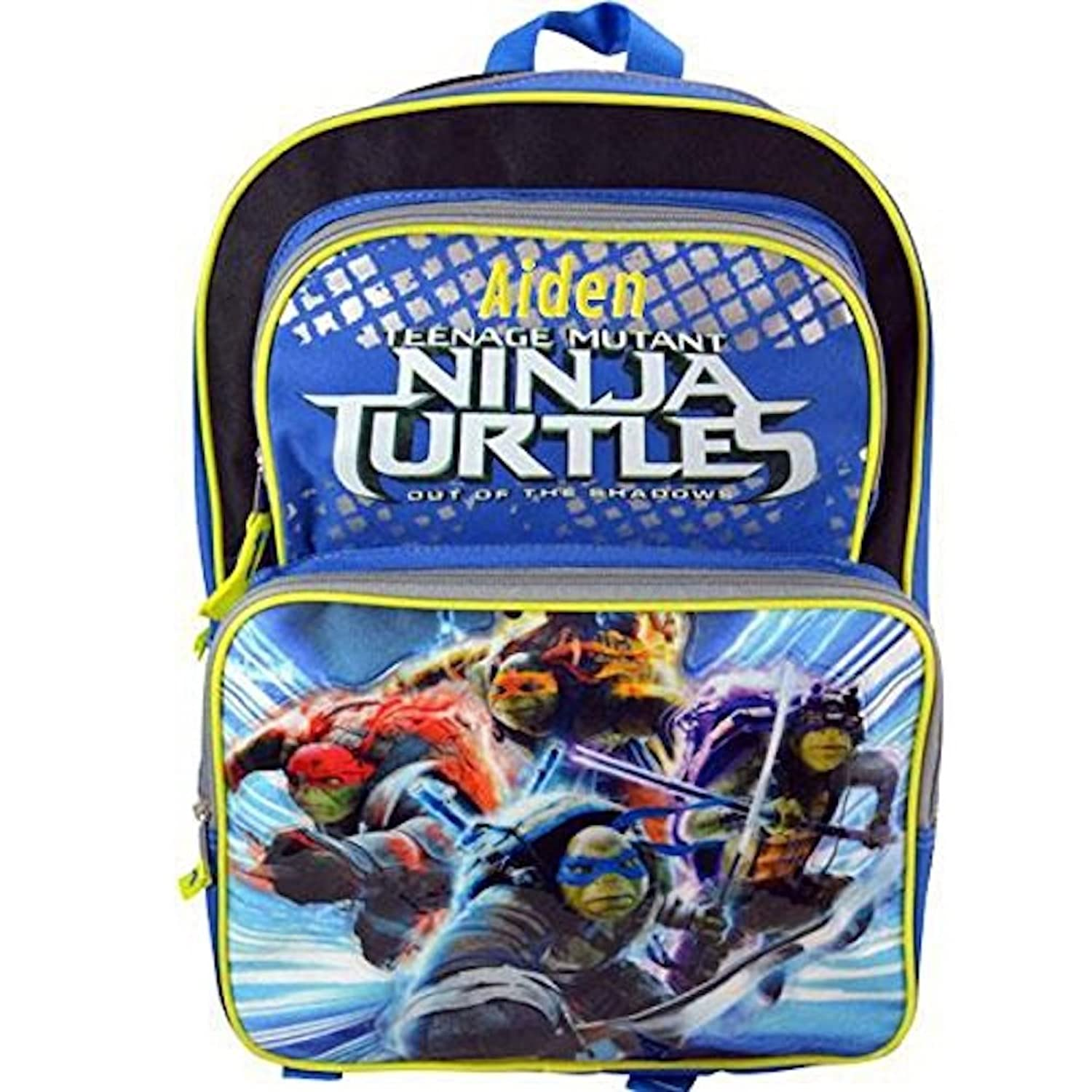 Personalized Licensed Ninja Turtles Character Backpack - 16 Inch