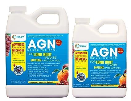Amazon.com: AGN tipo de piso II – Nutrientes para plantas de ...