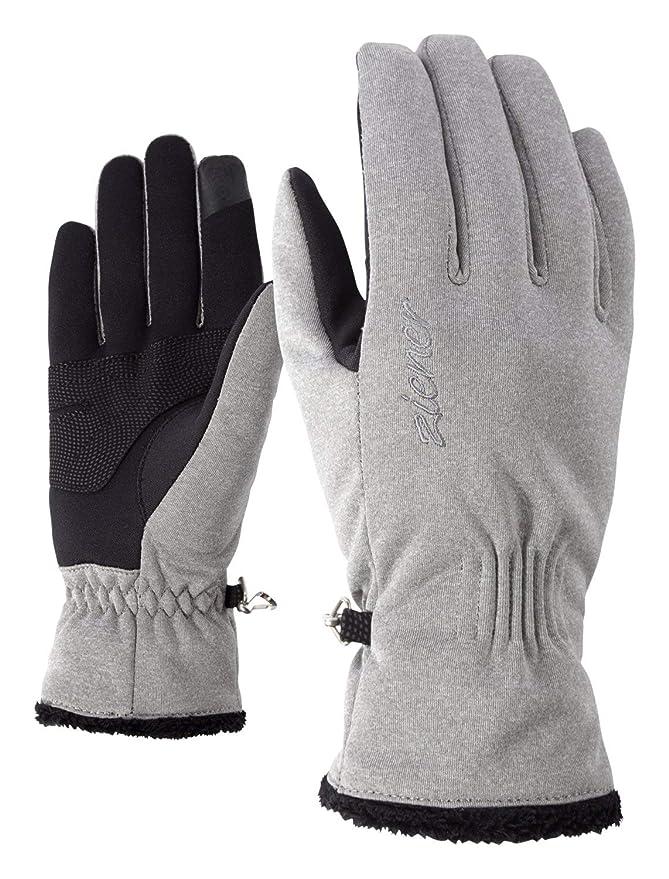 grey melange Ziener Ibrana touch Lady glove
