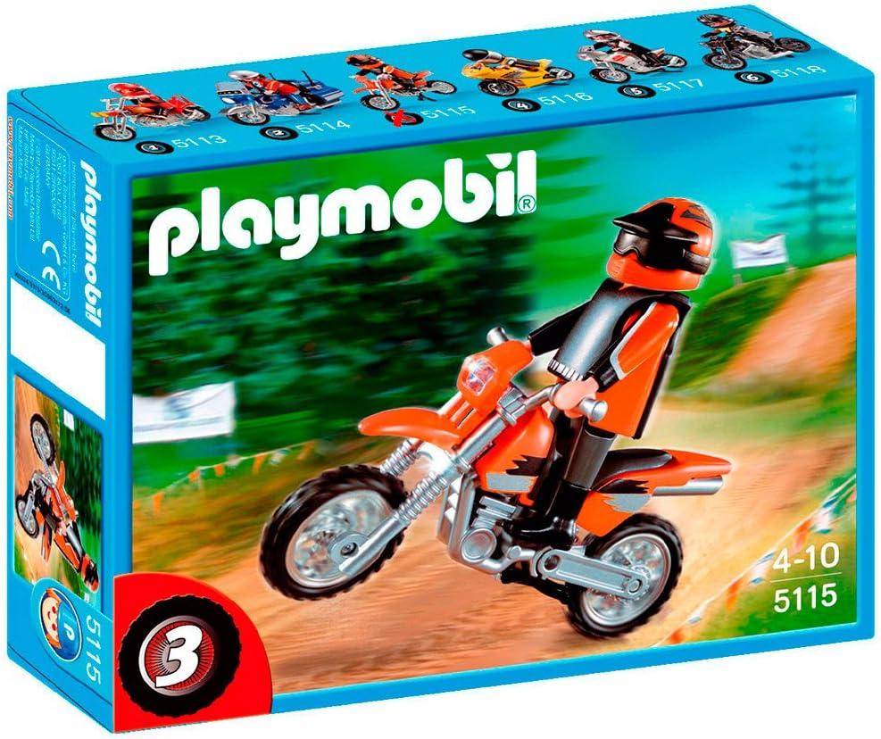 Playmobil Moto Cross Motorbike