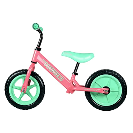8352842a391 ... Bike, No Pedal Toddler Bike 7/10/12 inch [Vary for Ages 1.5-5 Year Old  Boys Girls] Adjustable Handlebars/Seat Lightweight Kids Bicycle/Best Present  ...