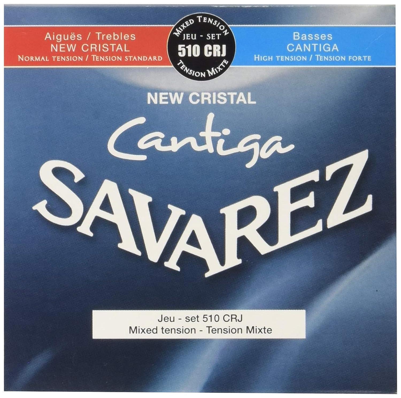 Savarez Cuerdas para Guitarra Clásica New Cristal Cantiga juego ...
