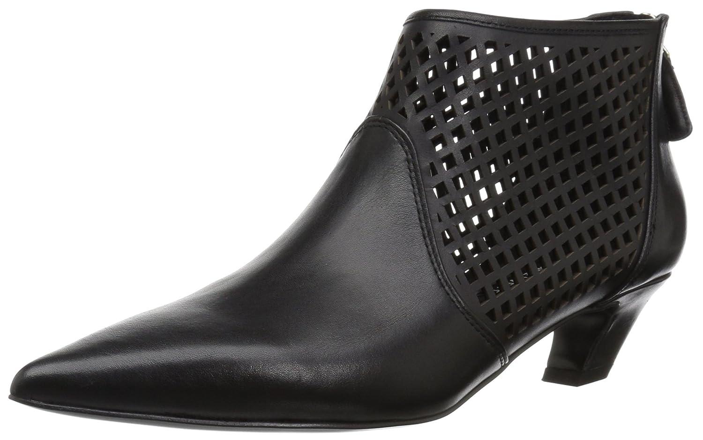 Nine West Women's Yovactis Leather Ankle Boot B077VX265N 7 B(M) US|Black
