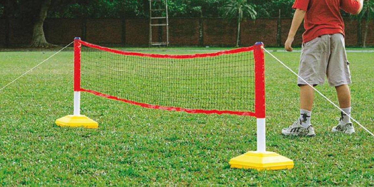 Juniors Mini Tennis & Badminton Combo Net Only by Sportsgear US